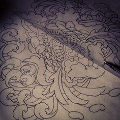 Gemma Pariente line drawing.