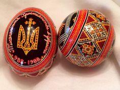Pysanky - Ukrainian Easter eggs - Pictures - CBS News Easter Egg Pictures, Popsicle Stick Art, Easter Egg Designs, Ukrainian Easter Eggs, Egg Art, Egg Decorating, Cbs News, Kallax Hack, Ikea Kallax