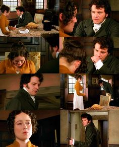 ilovejaneausten:  Darcy: You are not well.May I not call a doctor?  Elizabeth: No. I am well. I am well Darcy: Is there nothing you can take for your present relief?A glass of wine? Can I get you one? Truly, you look very ill. Elizabeth: No, I thank you. There is nothing the matter with me. I am quite well.I am only distressed by some dreadful news, which I have just received from Longbourn. Darcy: I am sorry. Forgive me .Elizabeth: No, no.I have just received a letter from Jane, with such…