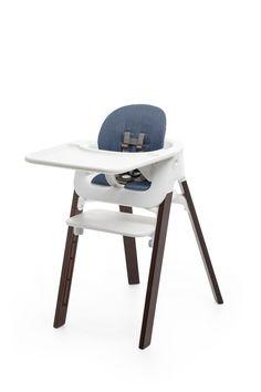 Stokke® Steps™ Chair Walnut with Baby Set