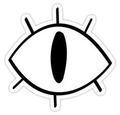 Bill Cipher #sticker from Gravity Falls by artofzan