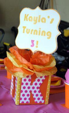 A-Dora-ble Birthday decor