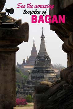 BAGAN,Myanmar | From the 9th to the 13th centuries, Bagan was the capital of the kingdom of Pagan, the center of the country now known as Myanmar (Burma). During this time, its kings built thousands of pagodas, temples and Buddhist monasteries (up to 10,000). Today, about 4,000 remain. We took a horse-and-buggy ride around Bagan to see them. Want to see our photos of some of these amazing temples of Bagan? Just click here!