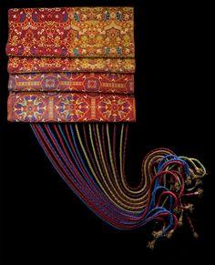 Africa | Woman's belt.  Fez, 19th century