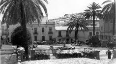 Plaza de San Pedro 2/2/1954 Nieve en Huelva