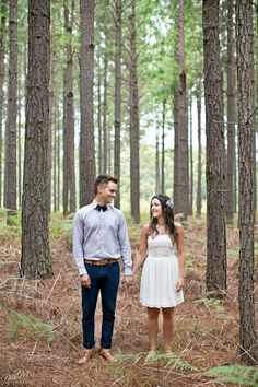 Kelly and Lloyd's Tsitsikamma Forest E-Shoot Fashion Photography, Engagement Shoots, Couple Photos, Couples, Cute, Vintage, Beautiful, Engagement Photos