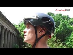how you how to use an #airwheel #smart #helmet #C5 in person