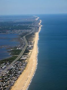 Chesapeake Bay, Maryland, Virginia, Delaware, East Coast Beaches.