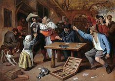 Jan Steen - Card Players' Brawl | Flickr - Photo Sharing!