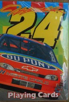 NASCAR 1999 JEFF GORDON PLAYING CARDS FREE SHIPPING!!