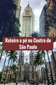Conheça o centro de São Paulo partindo da Estação Sé de Metrô. Veja a Catedral, o Marco Zero , o Pateo do Collegio, o CCBB, vá ao Mirante do Edifício Martinelli e muito mais. #DicasdeViagem