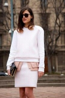 Milan street style fashion week A/W 2013