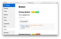 Drizzle | A tool for generating style guides and pattern libaries