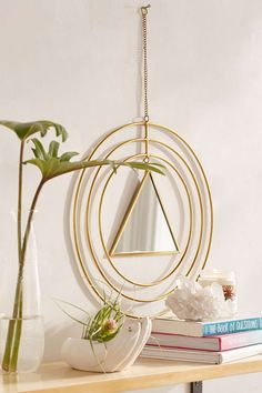 Triangle Mirror Wall Decor - Urban Outfitters