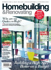 Homebuilding and Renovating magazine September 2016