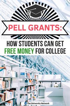 Unlike loans, recipients don't have to pay back Pell Grants. This is, essentially, free money to students who could use some help paying for college. Grants For College, Financial Aid For College, Scholarships For College, College Loans, College Tips, Education College, Student Loans, Health Education, Physical Education