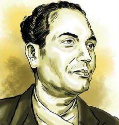 The great Nepali poet Laxmi Prasad Devkota || His most celebrated work is Muna Madan.