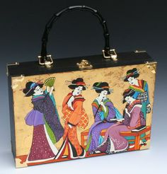 Denise Meyers Four Geishas Handbag