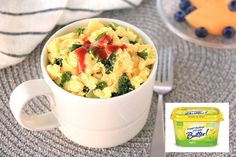 Kale & Sriracha Fluffy Egg Mug Recipe | Hungry Girl