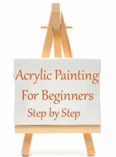 Step-by-step painting tips for beginner artists. I share what supplies you need, how to get started, and how to plan your painting composition.