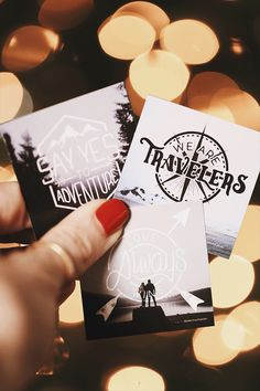 Adventure-Themed Sticker Pack. Stocking Stuffer Idea!