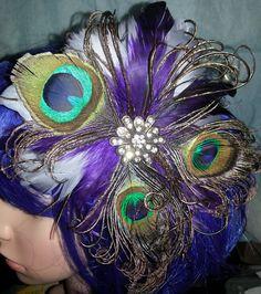Peacock peacock wedding cruelty free boho boho by msformaldehyde, $30.00