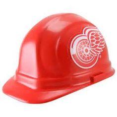 Detroit Red wings hard hat