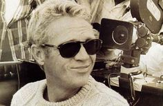 Persol sunglasses on Steve McQueen. See available eyewear at http://atlantaeyeshop.com/eyewear