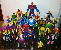 DC Direct/DC Universe Classics The Legion of Super-Heroes custom figures by…