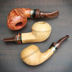 Introducing Jens Tao Nielsen plus fresh pipes from Bruce Weaver and Smio Satou. On site now at Smokingpipes.com.