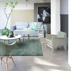 Green interior #vtwonen #green colors