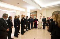 Lo que dijo el Papa Francisco a los líderes de las Compañías de Internet