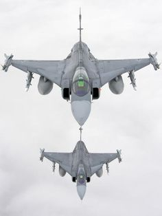 View top-quality stock photos of A Pair Of Hungarian Air Force Gripen Involved In Nato Baltic Air Policing Mission Over Lithuania. Find premium, high-resolution stock photography at Getty Images. Airplane Fighter, Fighter Aircraft, Fighter Jets, Military Jets, Military Aircraft, Jet Engine Parts, Saab Jas 39 Gripen, Brazilian Air Force, Swedish Air Force