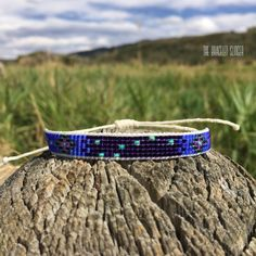 Use this bracelet to help guide you out of hard times by wrapping the 7 stars that have helped so many wanderers navigate through the night.  Available at TheBraceletSlinger on Etsy! #bigdipper #constellation #jewelry #bracelet #bohostyle #bohemianjewelry #handmadejewelry #handmade #loom #turquoise