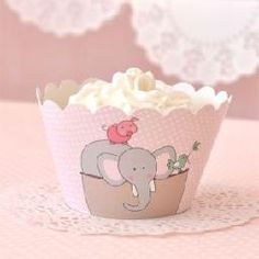 Chic Party Boutique | CUPCAKE WRAPPERSThese beautiful Noah's ark cupcake wrappers are perfect for a party, christening or baby shower. Featuring an ark filled with an elephant, giraffe, rhino, pig, sheep and bird they are perfect for any Noah's ark themed party.  Cupcake wrappers are for decorative purposes only and are designed to fit around cupcake liners with a 5cm base. Do not bake these cupcake wrappers.