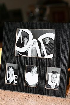 Father's Day idea... @Pamela Culligan Hughens ... I want to do this :)