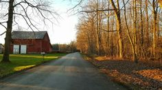 Country Road in Conneaut Lake, Pennsylvania #crawfordcountypa