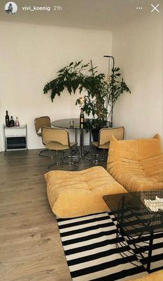 Home Living Room, Living Spaces, Interior Architecture, Interior Design, Aesthetic Room Decor, House Rooms, Room Inspiration, Decoration, Dream Decor