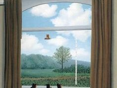 Rene Magritte La condition humaine (1933)More Pins Like This One At FOSTERGINGER @ PINTEREST No Pin Limitsでこのようなピンがいっぱいになるピンの限界