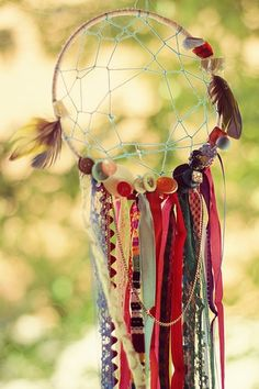 """Handmade Dream Catcher"". © ReneeLouiseA (https://www.etsy.com/ru/shop/ReneeLouiseA). #Dreamcatcher #Dreamcatchers"