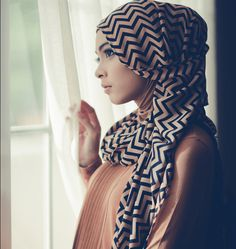 Printed Hijab Trends and Styles: Spring/Summer 2013