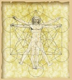 Surf better - develop a movement practice to move well, remain active, and stay injury free. Sacred Geometry Symbols, Sacred Geometry Tattoo, Vitruvian Man Tattoo, Platonic Solid, Famous Artwork, Star Tattoos, Embedded Image Permalink, Occult, Creative Inspiration