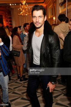 David Gandy attends the Aspinal of London Press Day on February 20, 2017 in London, England.