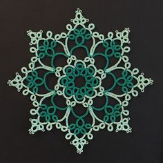 Tatting by the Bay- Robin Perfetti. I love her designs!