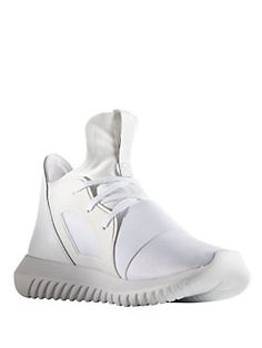 Adidas - Tubular Defiant Round Toe Slip-On Sneakers