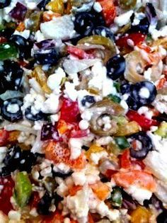 Recipe for the Optional Veggie Cottage Cheese Salad