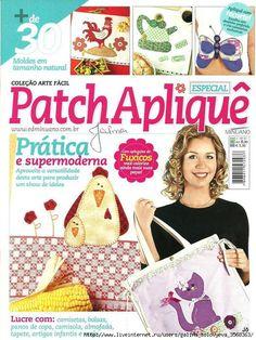 Patch Aplique --  Applique Patterns and ideas