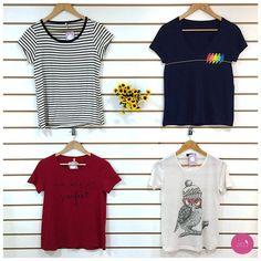 Estamos na dúvida de qual t-shirt é mais legal! #Vemprazas