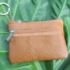 LADIES KIDS MEN Mini Small real leather bag pouch wallet coin Key purse zip NEW #KIDS #wallet #bag #Shopping