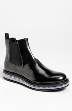 These would be great for the Seattle Rain! Prada 'Levitate' Chelsea Boot available at Nordstrom